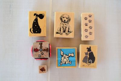 Rubber Stamps (Dogs)