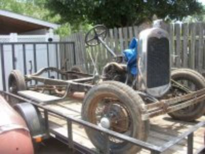 1930 Ford Model A Rolling Frame with title