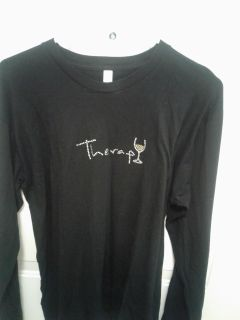 THERAPY long-sleeved t-shirt