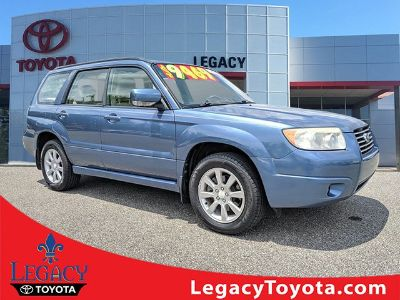 2007 Subaru Forester XS (Newport Blue Pearl)