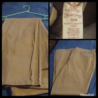 New, no tags, Womens pants size 20