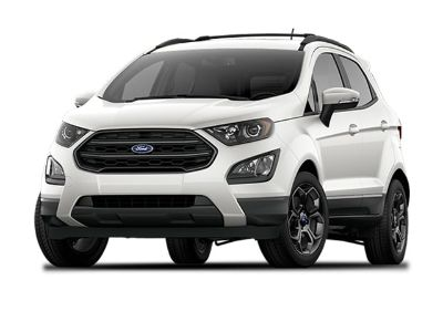 2018 Ford EcoSport SES (White Platinum)