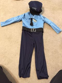 Police Costume 2-3t