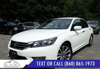 2013 Honda Accord Sport (White Orchid Pearl)