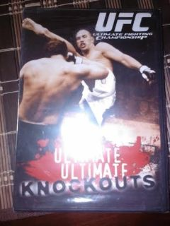 New / UFC Ultimate Knockouts DVD