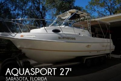 2000 Aquasport 275 Explorer
