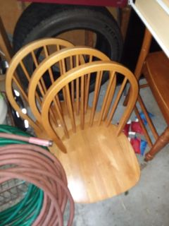 4 wood chair seats no legs good project