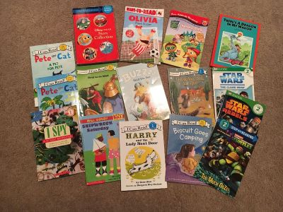 16 Early reader books all in new good condition