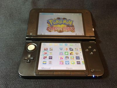 3DS XL with 74 Games