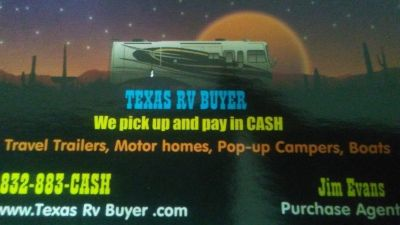 Wanted travel trailer