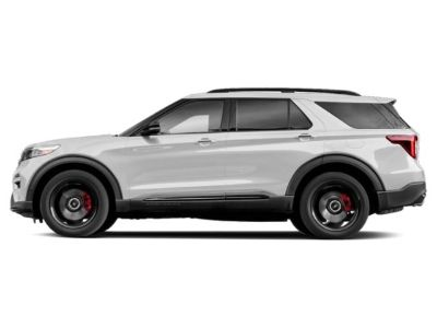 2020 Ford Explorer ST 4WD (Star White Metallic Tri-Coat)