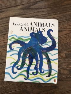 Eric Carles animal book $1 located in meridian village