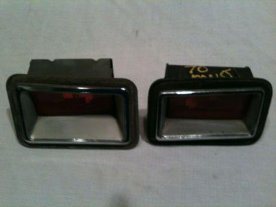 Sell 1970 FORD MUSTANG/TORINO/GALAXIE MERCURY COUGAR SIDE MARKER LIGHTS~ motorcycle in Roseville, California, US, for US $35.00