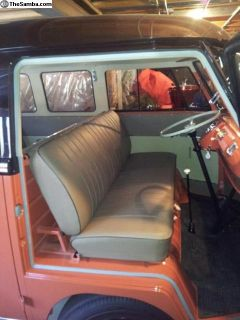 High Quality Repro Brown 55-58 Deluxe Seat Covers