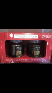 Yankee candle balsam and cedar gift set NEW