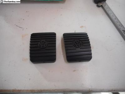 NOS 68-79 clutch and brake pedal pads