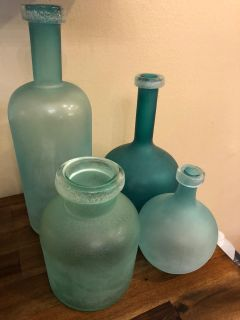 Will sell as set or individually-Frosted Glass