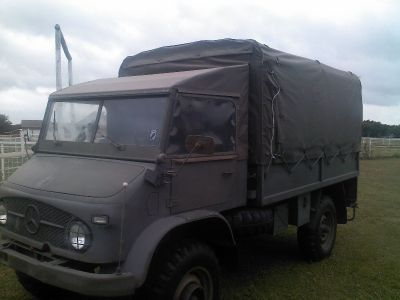 1962 Swiss Mercedes Benz Unimog 20,000 Original Miles, Tons of Extras!