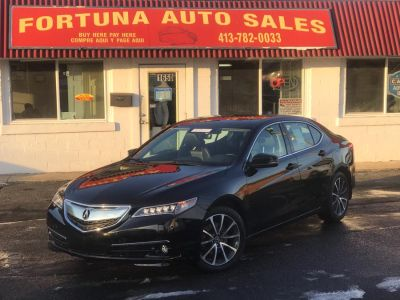 2015 Acura TLX 4dr Sdn FWD V6 (Crystal Black Pearl)