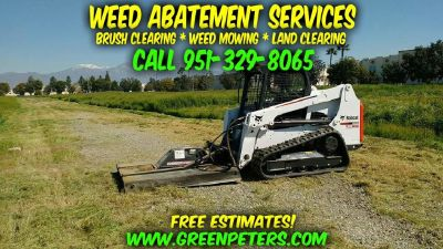 Mike's Low-Cost Weed Abatement & Bobcat Services - Call Us