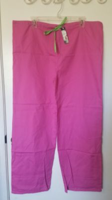NEW SCRUB PANTS WITH TAG, MELROSE BRAND, SIZE M