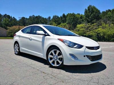 2013 Hyundai Elantra GLS (White)