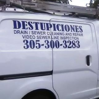 MIRAMAR  DESTUPICIONES, DRAIN CLEANING, 786 334 2631