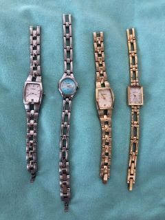 FOUR used watches