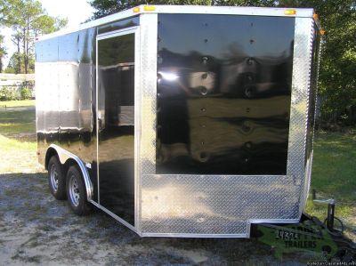 Trike Trailer...8.5x12 Rear Ramp and Side Door