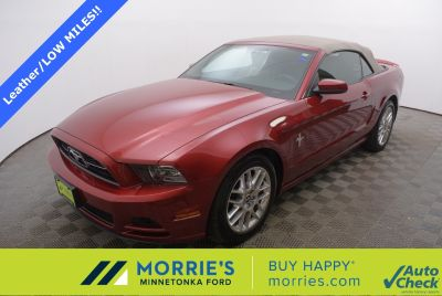 2014 Ford Mustang V6 (Ruby Red Metallic Tinted Clearcoat)