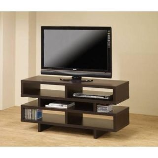 "NEW Cappuccino 47"" W TV STAND MEDIA CONSOLE LOOKS GREAT!"