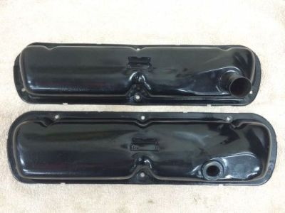 Purchase 63-66 FORD MUSTANG COUGAR FALCON GALAXIE OEM VALVE COVERS 289 302 SBF A D CODE motorcycle in Loganville, Georgia, United States, for US $35.00