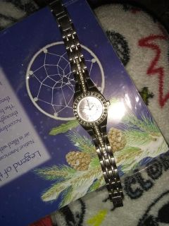 Ladies Relic Crystal Watch