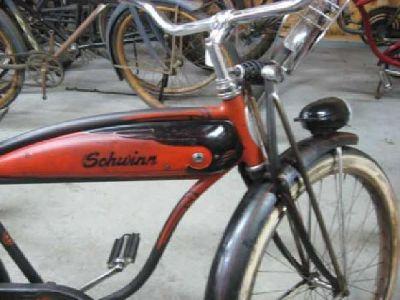 $350 1955 Men's Schwinn Hornet