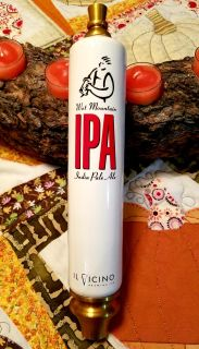 Il Vicino Brewing Co Wet Mountain IPA Tap Handle