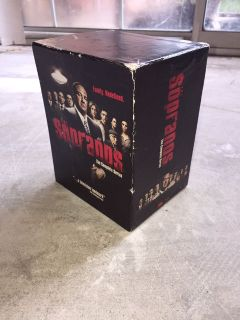 Sopranos complete blu-ray series