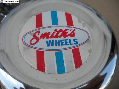 Smiths Vintage NOS Wheel Center Caps