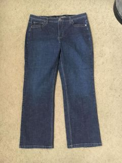 NWOT lee comfort waistband stretch jeans. Size 18