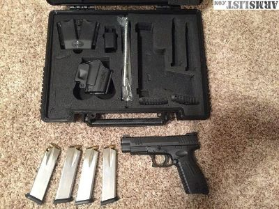 For Sale: Springfield XDM Custom