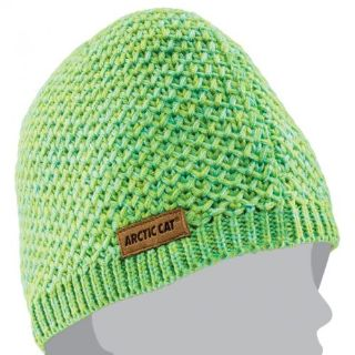 Find Arctic Cat Women's Lime Knit Polyester Acrylic Beanie - Green - 5273-094 motorcycle in Sauk Centre, Minnesota, United States, for US $18.99