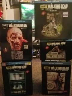 Limited edition walking dead dvd sets