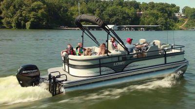 2019 Lowe SUPER SPORT 210 WALK THRU TRIPLE LOG W/ MERCURY 150 & TRAILER Pontoons Boats West Plains, MO