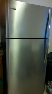 Frigidaire Gallery Top Freezer Stainless Steel Silver Refrigerator