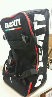 Purchase DUCATI WHEELED GEAR BAG, RACING TROLLEY 74x37x30CM # 981018685 FREE SHIPPING motorcycle in Irwin, Pennsylvania, United States, for US $199.95