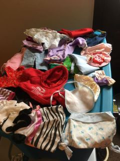 Misc Doll Clothes. NOT for 28 inch Dolls