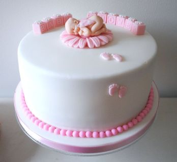 Eggless Baby shower Cakes