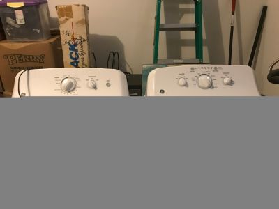 NEW GE Washer and Dryer.