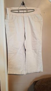 Old navy large maternity capris