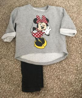 Old Navy Minnie Mouse Outfit Size 3T