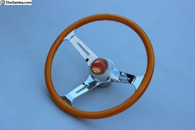 375mm Knollwood Red Herring Steering Wheels